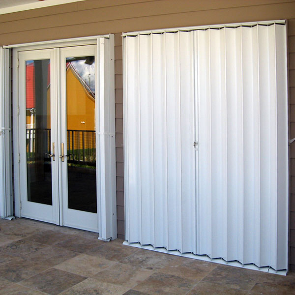 Accordion Storm Shutters