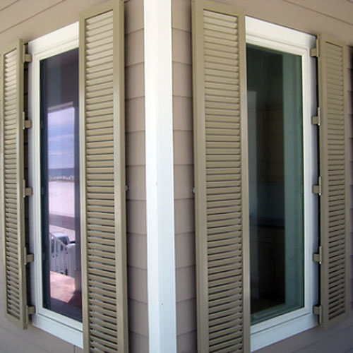 Colonial Louvered Shutters