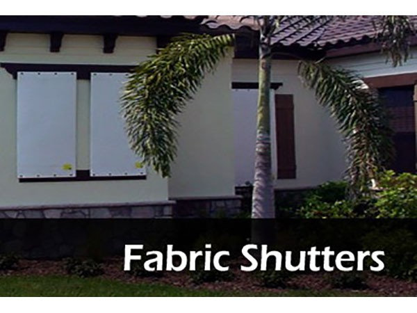Fabric Storm Shutters
